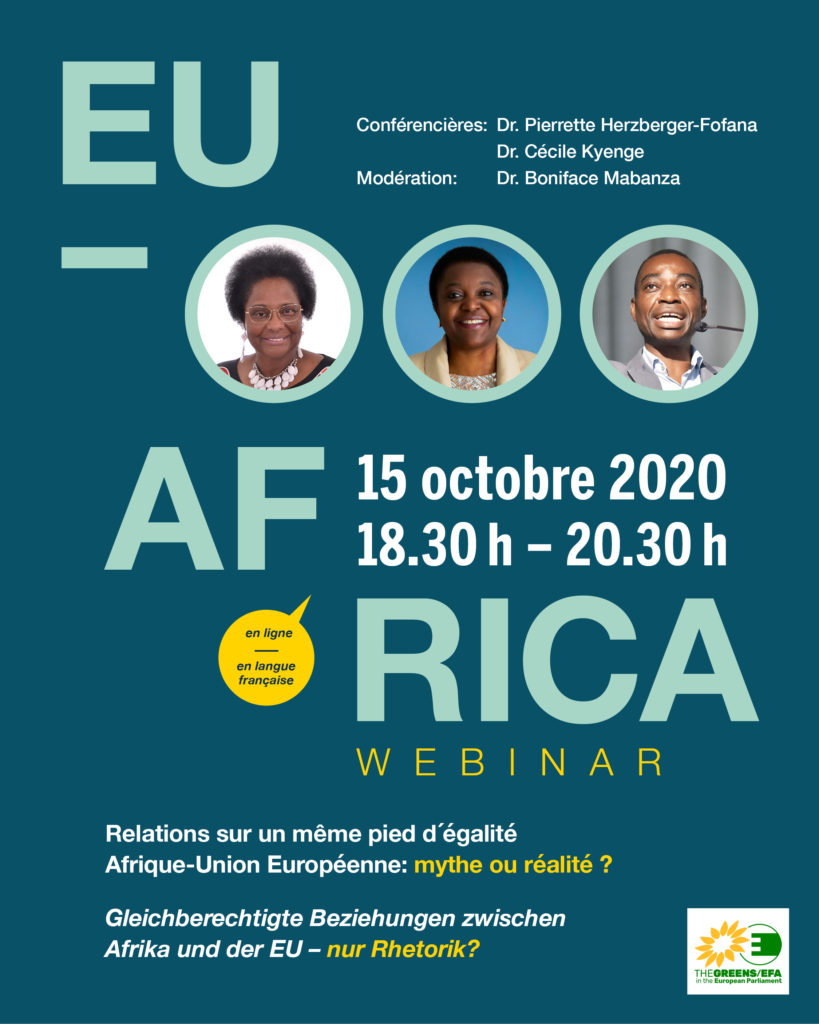 Visioconférence:  Relations sur un même pied d´égalité Afrique-Union Européenne : mythe ou réalité ?
