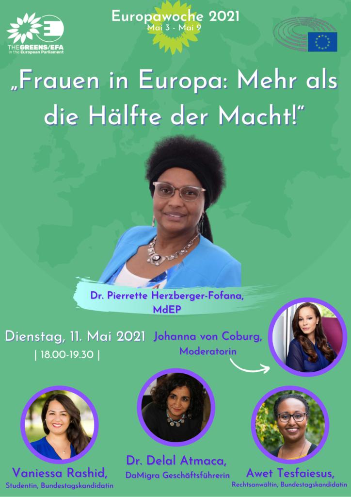 Frauen in Europa: Mehr als die Hälfte der Macht!